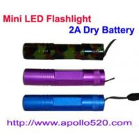 Buy cheap Mini Led Flashlight 2a Dry Battery from wholesalers