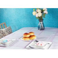 China Water Resistant Disposable Paper Tablecloth Wipe Clean Table Cloth Party Tablecloth For Outside factory