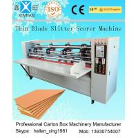 China Cardboard thin knife Cutting Machines factory