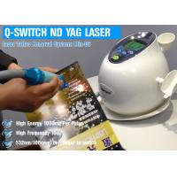 China Water Air Cooling ND YAG Laser Treatment For Hair Removal / Pigmentation Removal on sale