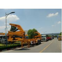 China Xcmg 20ft Truck Mounted Crane Container Side Lifter With Max 37 Tons Load Capacity factory