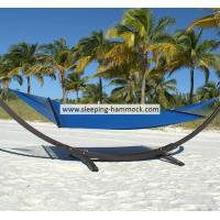 Buy cheap Extra Large Dark Blue Roman Arc Polyester Rope Hammock With Stand Seat Island 55 X 84 Inches from Wholesalers