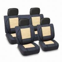China Seat Cover, Made of Velvet, Available in Blue, Yellow, Gray, and Red Colors factory
