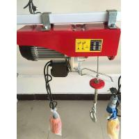 China Multipurpose Mini Electric Hoist 0.1-1T Loading Capacity With CE ISO Certification on sale