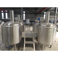 China 500L 1000L 2000L 3000L Stainless Steel Brewery Equipment Micro Brewing Equipment Turnkey Project factory