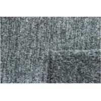 China Silver Grey Wool Jacquard Fabric Blend For Mens Collection Ventilated factory
