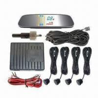 China Car Parking Sensor System with Multicolor LED Display and Alarm Functions factory