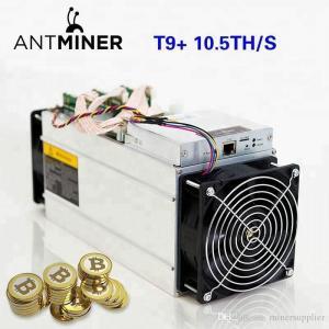 China Bitcoin Farming Machine Bitmain Antminer T9+ (10.5Th) From SHA-256 Algorithm factory