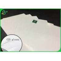 Buy cheap FSC Certified Couche Paper C2s Glossy Coated Art Board 135g TO 350g from wholesalers