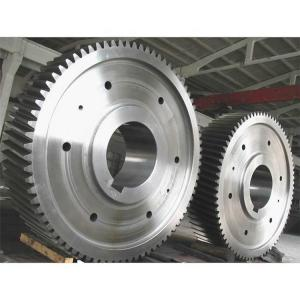 China Integral Pinion Shaft 500TPD 350TPD Casting Pinion Gears factory