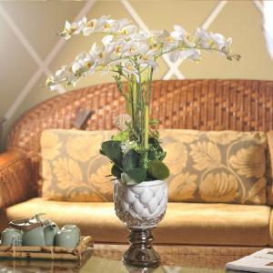 Silk Orchid Flower Arrangements