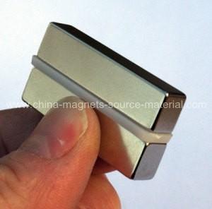 China N30H Sintered Neodymium Magnet factory