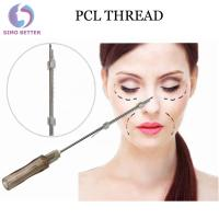 Buy cheap Cosmetic Thread COG Collagen Lifting Barbed Suture Thread PCL Face Lifting Hilos Tensores from Wholesalers