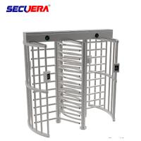 China Biometric Rotor Turn Style Security Turnstile Gate Stainless Steel Full Height factory