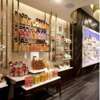 Buy cheap Large Shop Display Showcase / Glass Food Display Case Customized Size from Wholesalers