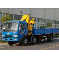 China Durable 11meters Truck Mounted Crane 6.3T Used for Lifting Construction Materials factory