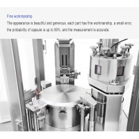 China Small Automatic Empty Gelatin Capsule Powder Filling Machine Size 00 For Pharmaceutical/Food factory