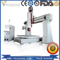 China Two years warranty 5 axis CNC router machine TM1325-5axis. threecnc on sale