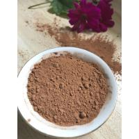 China NF02 Dark Brown Natural Low Fat Cocoa Powder 4%-8% Fat Content , 5.0-5.8 PH Value factory