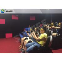 China Ingenious Simulating Game 7D Movie Theater For Theme park / Exhibition Hall factory