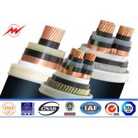 China XLPE Insulated Steel Wire Armoured 11kv Power Cable 400/500mm² 90°C 110°C on sale