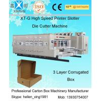 Buy cheap 30kw Carton Making Machines With HRC58 - 62 from Wholesalers