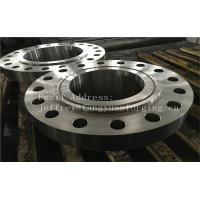 China ASME B16.5 WN A350 LF6 Forged Carbon Steel Flange With Nice Packing Or Un-standard Flange factory