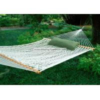 Buy cheap Backyard Comfortable Deluxe Polyester Rope Hammock Bright White including Two Tree Hooks from Wholesalers