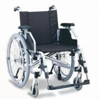 China Wheelchair with Quick Release Pnuematic Rear Wheel, Carrying and Anti-wheel Features factory
