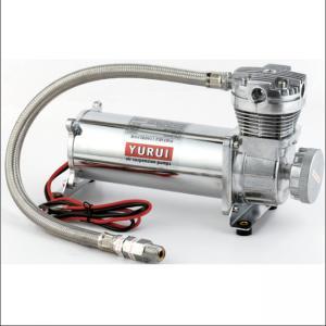 China 200psi Silver Air Suspension Pump 2.9 Cfm 12 Volt Portable Air Compressor factory