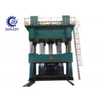 Buy cheap High Precision Automatic Hydraulic Press Machine Low Noise Touch Screen PLC Control from Wholesalers