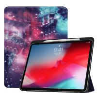 China iPad Pro 11 Smart Case with Pencil Holder Leahter iPad Pro 11 2018 Cover factory