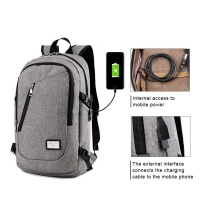 China Waterproof Durable  48CM Business Laptop Backpacks factory