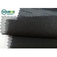 Buy cheap Garment Suits Plain Weave Fusible Woven Interlining Polyester Light Weight from Wholesalers