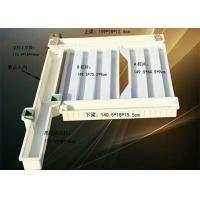 Durable Concrete Fence Panel Moulds ABS Material Release Easily Long Service Life