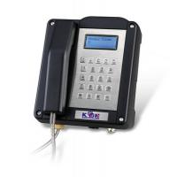 Buy cheap Black LCD Explosion Proof Telephone Waterproof IP66 With Full Or Half Soft Lock from Wholesalers