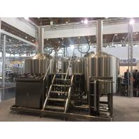 China SUS 304 7Bbl Large Scale Brewing Equipment Semi Automatic Control System factory