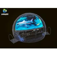 China Black Dome Movie Theater Capacity 28 People / 360 Dome Projection factory