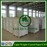 LWC paper/Light weight coated paper made by 100% wood pulp