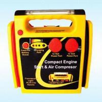 Buy cheap 2-in-1 Jump Starter with Air Compressor and Overload Protection from Wholesalers
