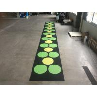 China Recycled Outdoor Rubber Mats , 15-60mm Thickness Rubber Gym Flooring Tiles factory