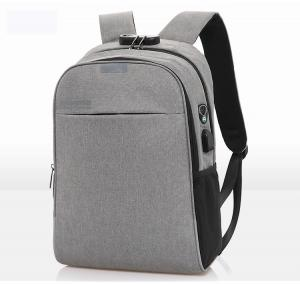 China Smart Anti Theft Canvas 45cm Work Laptop Backpacks factory