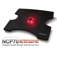 Buy cheap Gaming Laptop Cooling Pad with 200mm red LED Fan from Wholesalers