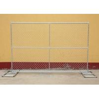 China Galvanized Wire Security Metal Fence Panels OD32mm / OD48mm Frame on sale