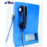 Buy cheap 110 120 119 Auto Dial Emergency Phone , Blue Wall Mounting Telephone from Wholesalers