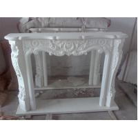 Buy cheap Hand Carved Indoor Simple Stone Fireplace from Wholesalers