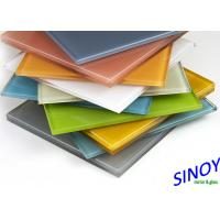 China 3mm To 8mm Water Proof Back Painted Glass For Interior Designs And Decorations factory