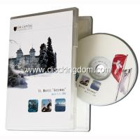 Buy cheap Multiple DVD cover printed 1cd case music CD wholesale from Wholesalers