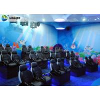 China Electric Cylinder Dynastic 5D Cinema Theatre With Individual CPU Control For Museum Park factory