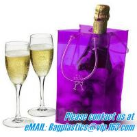 China portable wine bags, wine carriers, juice beverage bags, drink ice bags, wine gift factory